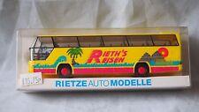 RIETZE AUTO BUS COACH NEOPLAN CITYLINER RIETHS REISEN LIVERY HO 1/87 #60070