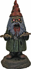 Male Zombie Horror Garden Gnome Holloween Decor Light-Up Prop 15""
