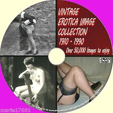 50000 NOSTALGIC ART IMAGE CORSETS/STOCKINGS/GLAMOUR/HEELS PHOTOS DVD 1900/80 NEW
