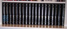 Encyclopedia Britannica 37 Piece Set 15th Edition Black Leather Bound-1987 +++