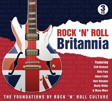ROCK'N ROLL BRITANNIA THE FOUNDATIONS OF ROCK'N'ROLL CULTURE 3 CD NEU