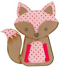 Sizzix Bigz Fox #2 die #660774 Retail $19.99 designer Lori Whitlock, Cuts fabric