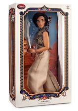 """Disney Store ALADDIN & ABU 17"""" Doll LE Limited Edition of 3500 IN HAND NIB"""