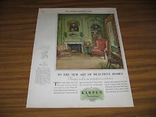 1928 Print Ad Karpen Furniture Art of Beautiful Homes USA