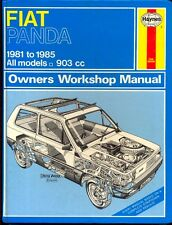 Fiat Panda 1981-85 903cc Haynes workshop manual
