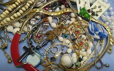 Junk Drawer Lot of Vintage to Now Nice, All Wearable Jewelry..No.2
