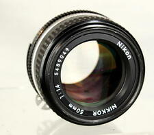 Near-Mint Nikon Nikkor 50mm 1:1.4 AI-s Manual Focus Lens Looks and Works Great