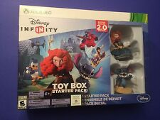 Disney Infinity 2.0 Toy Box Starter Pack for XBOX 360 NEW