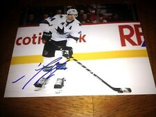 Marc-Edouard Vlasic Jose Sharks Autographed 8x10 Photo   COA