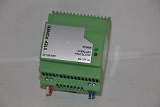 Phoenix Contact Step Power Overload Protector STEP-PS-100-240AC/12DC/3 12vdc