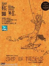SHIP OF THESEUS - SPECIAL 2 DISC EDITION BOLLYWOOD DVD - FREE UK POST