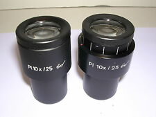 CARL ZEISS PL 10X PAIRED WIDEFIELD EYEPIECES  ****NEW*****PART NO.444034/444033