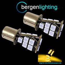 581 BAU15s PY21W XENO ambra 18 SMD LED Anteriore Indicatore Lampadine HID fi201402