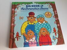 Berenstain Bears 5 Books In One, Hardcover, New Baby, Sitter, Doctor, Messy Room