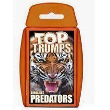 Top Trumps - Deadliest Predators
