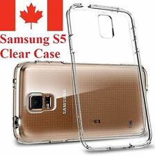 For Samsung Galaxy S5 - Clear Gel Ultra Thin Soft TPU Transparent Case Cover