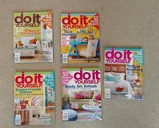 Do It Yourself Magazine Lot Of 5 issues 2012 2014 PAINT SALVAGE MAKEOVER Project