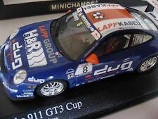 2006 Porsche 997 911 GT3 Cup Limited Editon of only 1,344 1:43 Minichamps Schrey