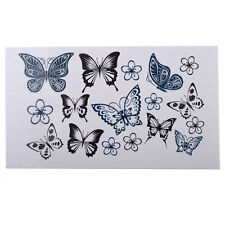 Sexy Fashion Butterfly Body Art Waterproof Elegant Temporary Tattoo Sticker Gift