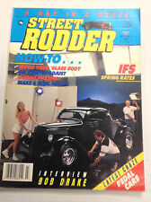 Street Rodder Magazine Interview With Bob Drake March 1992 011817R