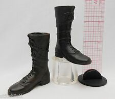 1/6 Sideshow Figure Van Helsing Vampire Monster slayer Dark brown tall boots set