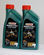 CASTROL MAGNATEC STOP & START 5w30 C2 FULLY SYNTHETIC ENGINE OIL  - 2 x 1LTR