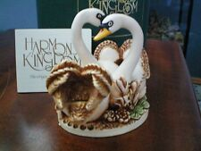 Tribute to Princess Di Valentine Romance Annual Harmony Kingdom Pillow Talk Swan