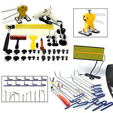 PDR Tools Paintless Dent Hail Rods-Repair Puller Lifter Removal Glue Hammer Kits