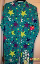 Joe Boxer Stars Footed Pajamas Footie 1 Piece New M or L LAST ONES PERFECT GIFT