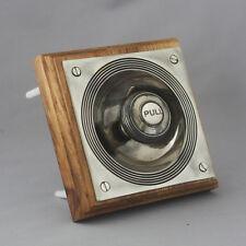 Victorian Style Nickel Claverley Front Door Bell Pull