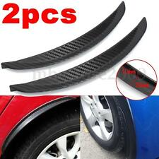 Universal Carbon Fiber Car Flares Wheel Fender Lip Guard Body Decoration 24.5cm