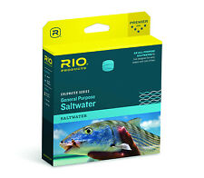 Rio General Purpose Saltwater WF7F Fly Line - New - Lt Coral - Free US Shipping