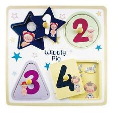 Wibbly Pig Shape Peg Puzzle
