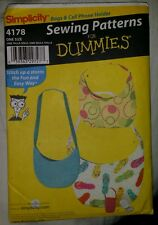 Simplicity sewing patterns for DUMMIES pattern 4178 one size bags purses