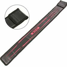BCE RED & BLACK Sleeve Case for 2 Piece Pool Snooker Cue