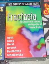 VHS Fractasia Glasses Dr. Devious VR NEW SEALED Classical Prism Leisure