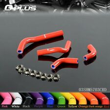 Silicone Radiator Coolant Hose Kit FOR HONDA CRF250R 04-09 CRF250X 04-12 RD