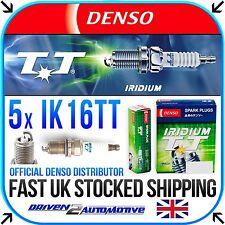 5x DENSO IK16TT SPARK PLUGS FOR SEAT TOLEDO Mk II (1M2) 2.3 V5 20V 09.00-11.03