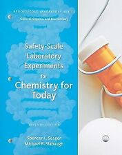 Safety-Scale Laboratory Experiments for Chemistry for Today (Brooks/Cole Laborat