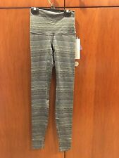 NWT Lululemon Wunder Under Pant Hi Rise Space Dye Twist Slate Fatigue Green sz 4