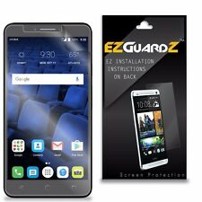 2X EZguardz Clear Screen Protector Shield 2X For Alcatel OneTouch Pixi Theatre