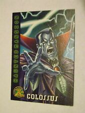 1996 FLEER X-MEN BASE CARD #91 COLOSSUS AS COUNT VAMPIRE HAUNTED MANSION