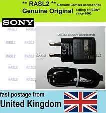 Original SONY AC-UUD11 AC Adaptor Charger + USB Cable DSC-RX1 DSC-RX100 mk 2 3