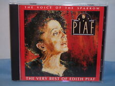The Voice Of The Sparrow The Very Best Of Edith Piaf 1991 CD Capital EMI Music