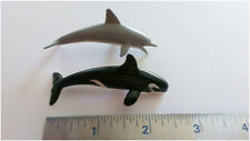 Miniature Dolphin and/or Killer Whale flexible toy, Lot of 200 pieces, Bulk Toys