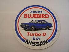 autocollant nissan bluebird