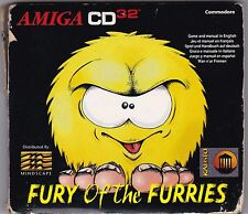 Fury of the Furries for Amiga CD32, COMPLETE, VGC, RARE