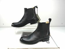 Frye Erin Chelsea Black Soft Vintage Leather Women's Pull On Ankle Boots Size 7
