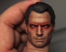Custom 1/6 Vein Henry Cavill Batman v Superman 2 Head Sculpt For HotToys Body