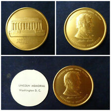 Lincoln Memorial medal – Sixteenth President – bronze medal